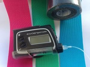 Tapes um den Freestyle Libre Sensor zu fixieren