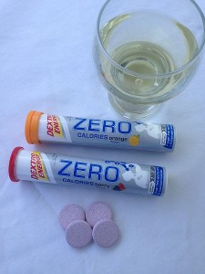 Dextro Energy Zero Calories, Getränk mit kaum Kalorien und Kohlenhydraten